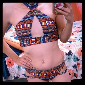 Bright colors swimsuit brand new!!!